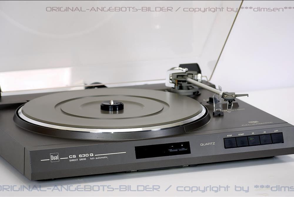 DUAL CS 630 Q 直驱全自动黑胶唱机