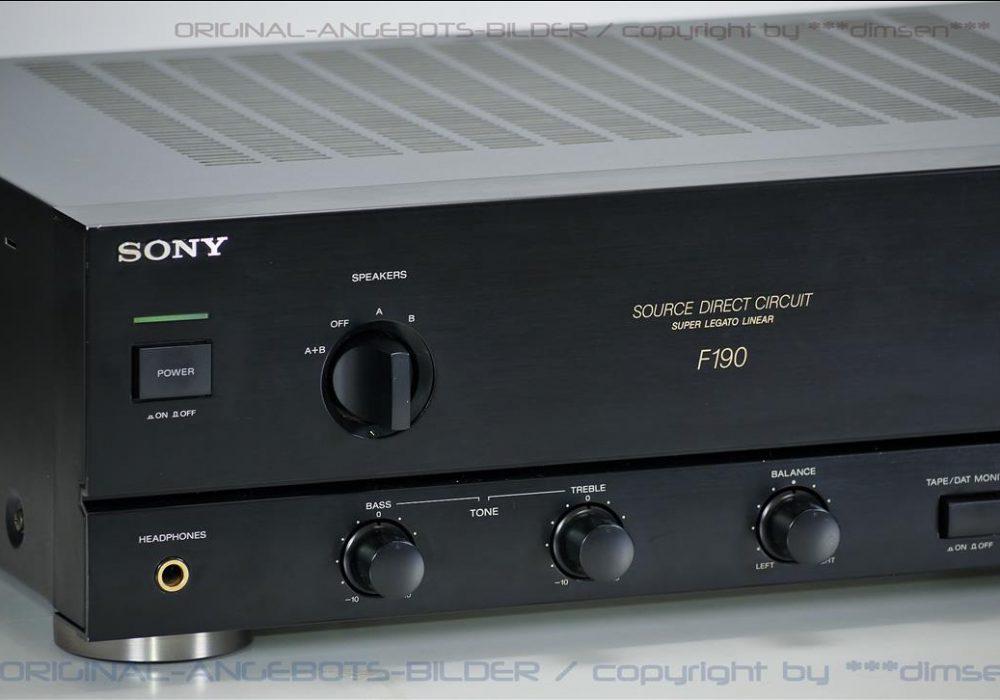 索尼 SONY F190 功率放大器