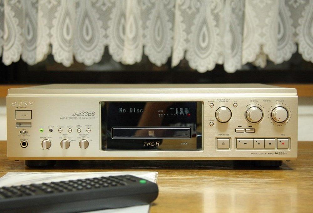 索尼 SONY MDS-JA333ES MD高级播放机