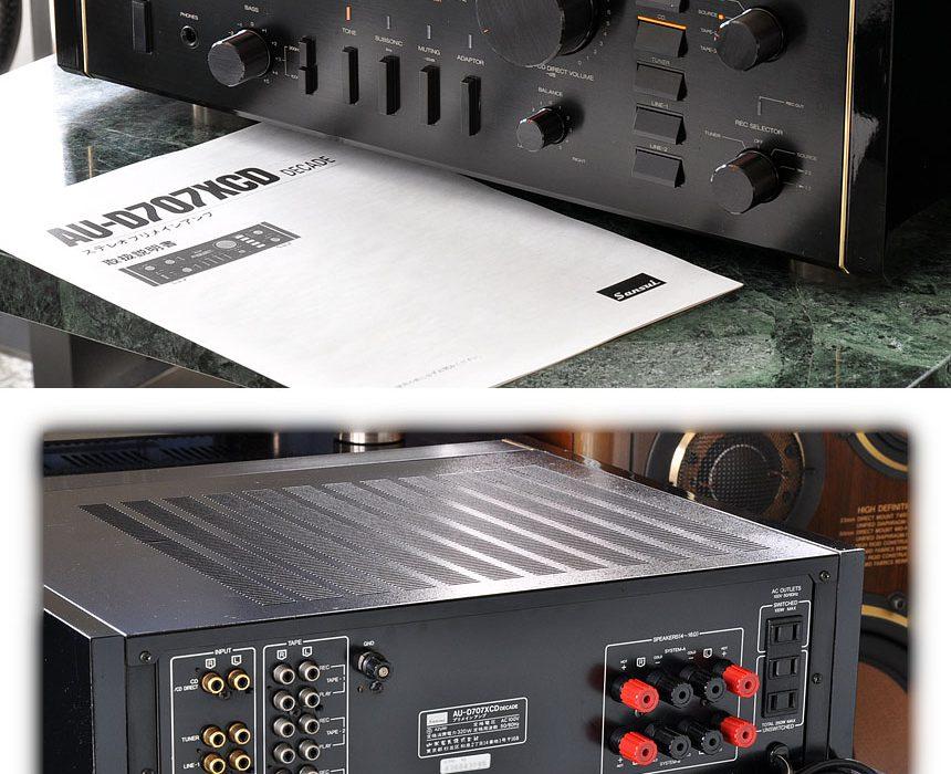 山水 SANSUI AU-D707XCD DECADE 功率放大器