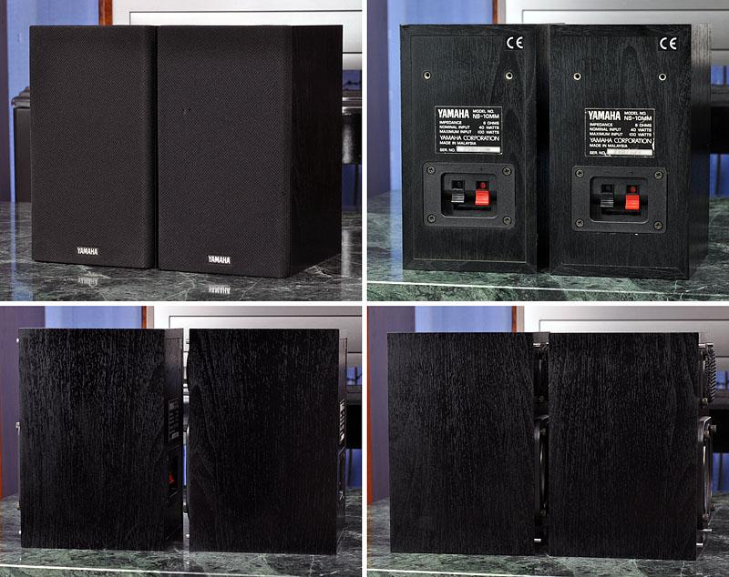 雅马哈 YAMAHA NS-10MM 小型书架音箱