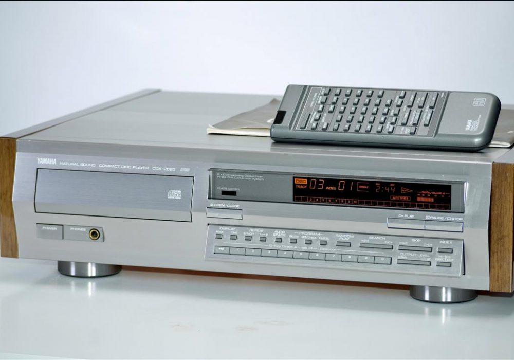 雅马哈 YAMAHA CDX-2020 高级CD播放机
