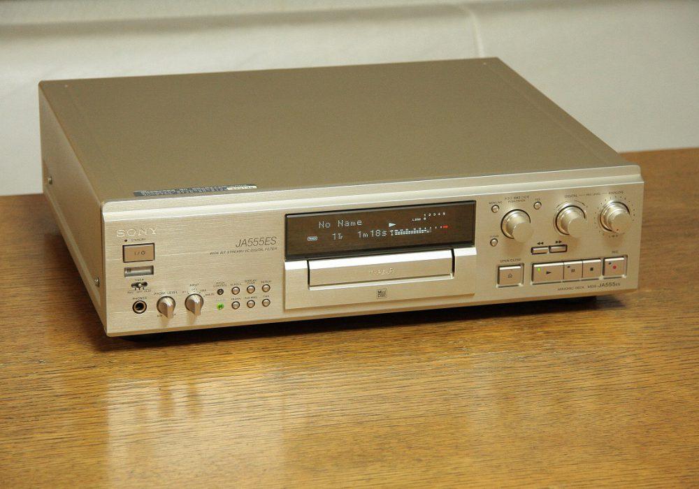 索尼 SONY MDS-JA555ES 顶级MD播放机