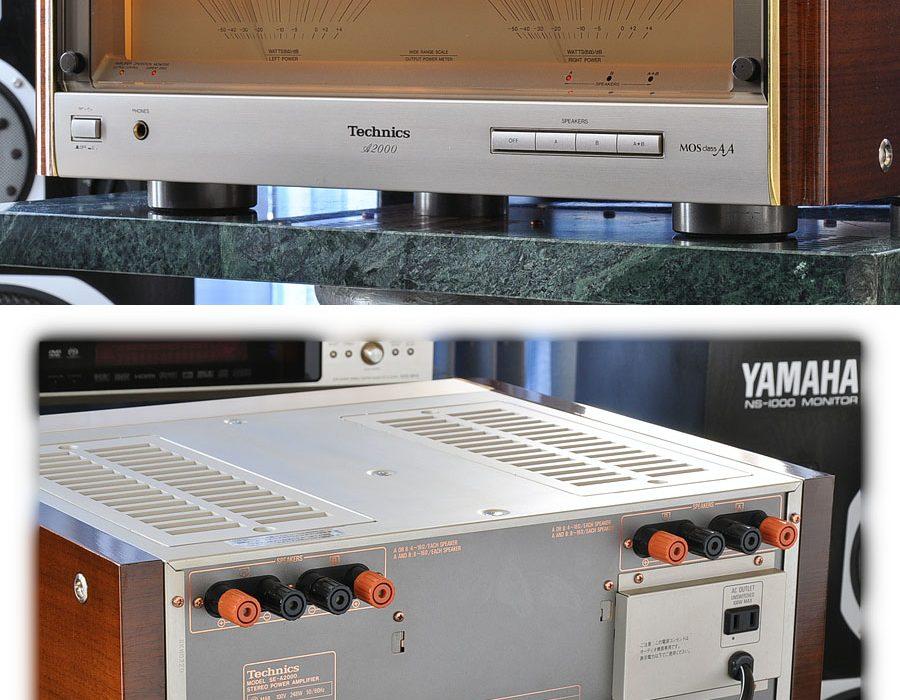 松下 Technics SE-A2000 大表头MOS级AA 功率放大器