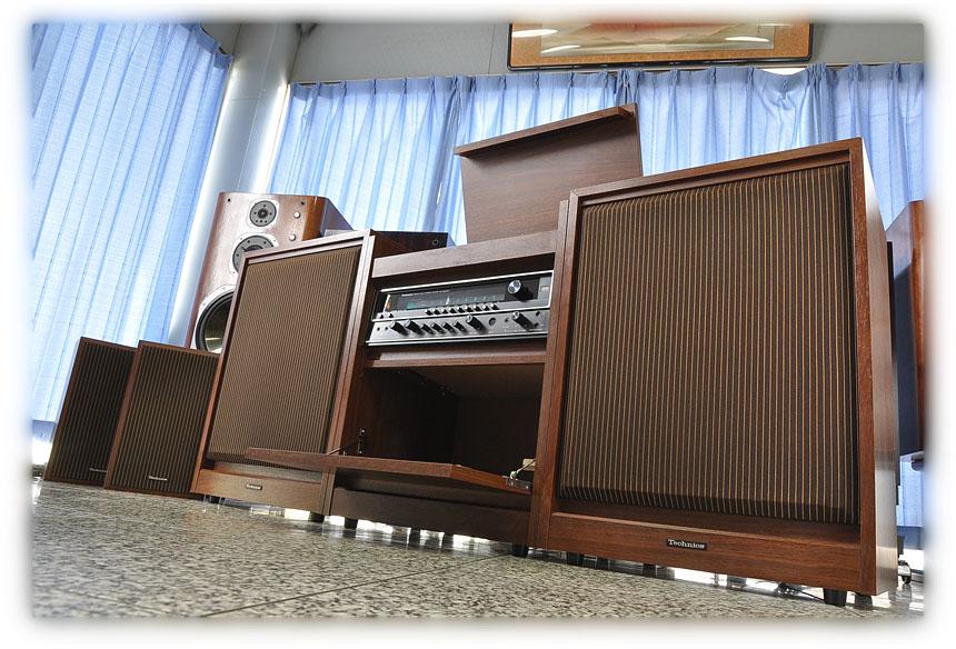 复古家居风格系统 松下 Technics SC-8400DX 音响组合