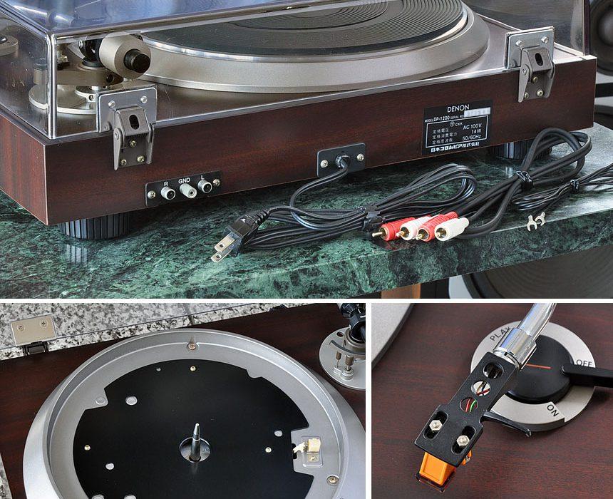 天龙 DENON DP-1200 黑胶唱机