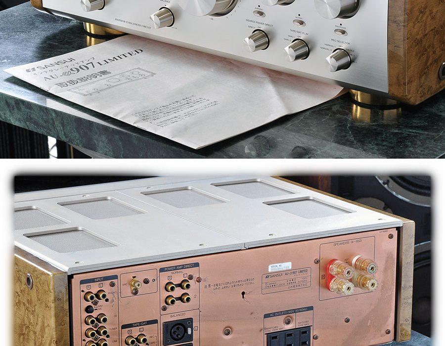 山水 SANSUI AU-α907 LIMITED 功率放大器