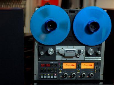 STUDER A810 专业电台版(带表桥)两轨开盘机 - 广安经典音响