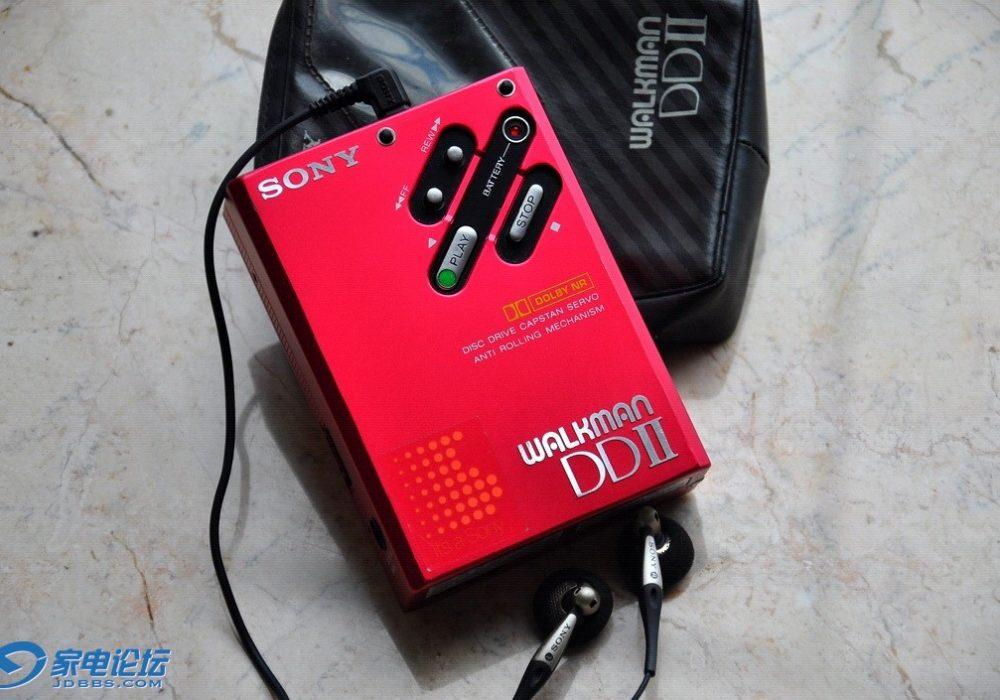 索尼 SONY WM-DD2 磁带随身听