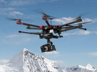 DJI spreading wings S900碳纤维折叠式无人摄影飞行器