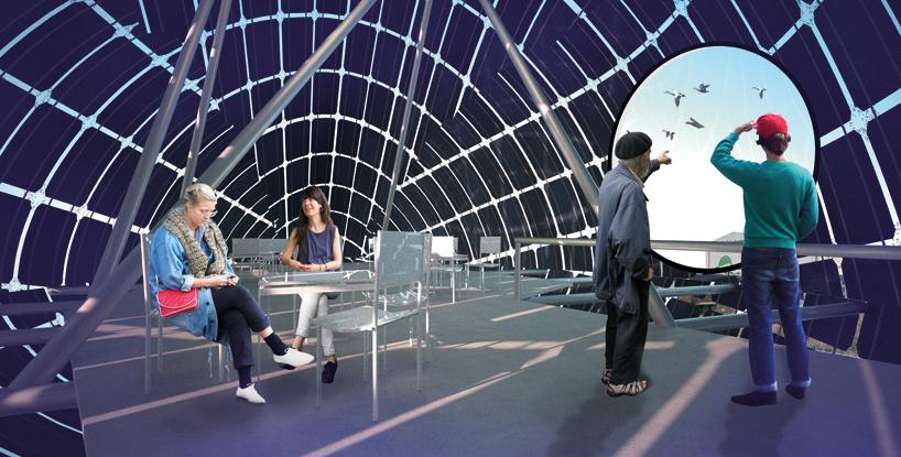 太阳能 巨鸭 为哥本哈根提供可再生能源