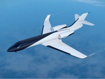 使用太阳能板的全景喷气式飞机 IXION