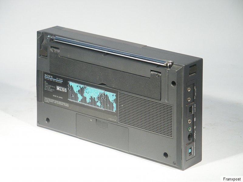 索尼 SONY ICF-2001D 收音机
