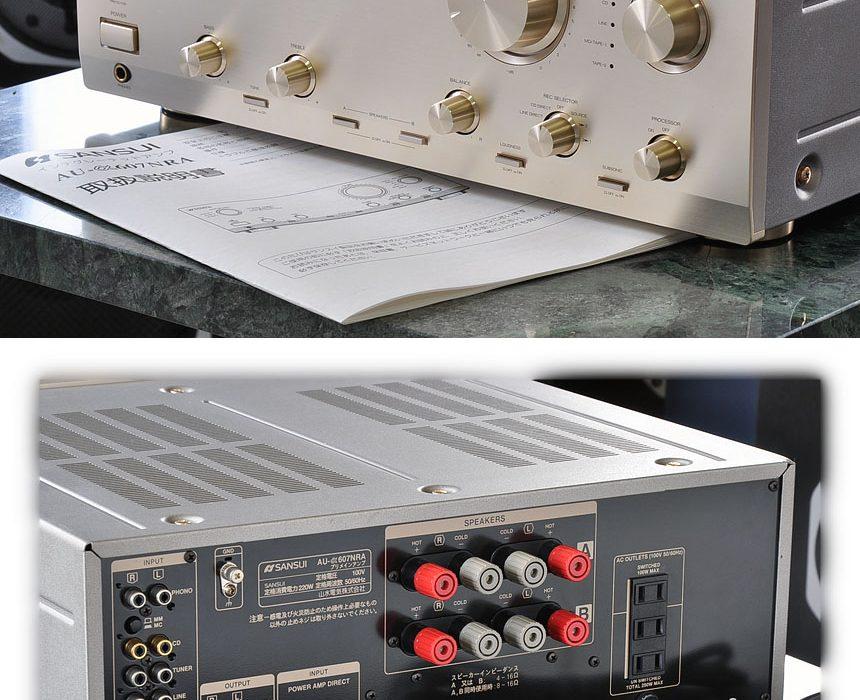 山水 SANSUI AU-α607NRA 合并式功率放大器