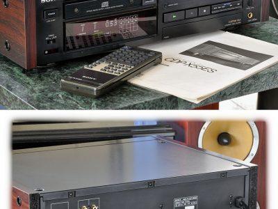 索尼 SONY CDP-X55ES 高级CD机