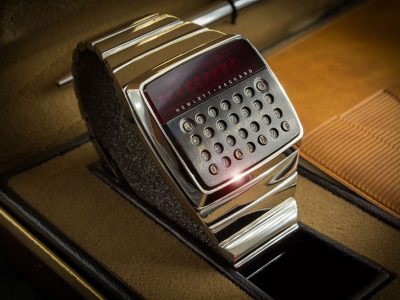 HP-01 ,惠普工程师1977年设计的智能手表