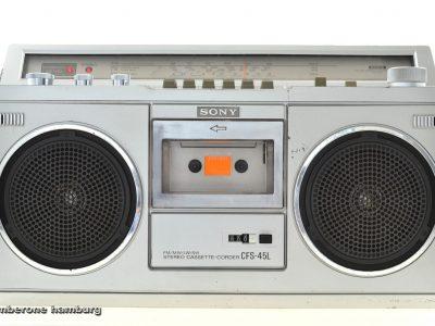 索尼 SONY CFS-45L 收录机