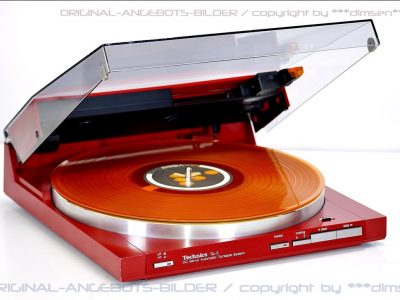 松下 Technics SL-3 红色黑胶唱机