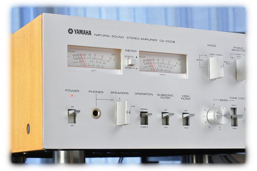 雅马哈 YAMAHA CA-1000III 功率放大器
