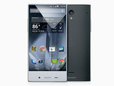 夏普aquos水晶 超窄边框 手机
