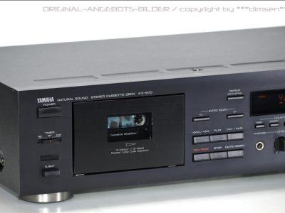 黑色雅马哈 YAMAHA KX-670 三磁头卡座