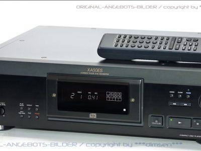 SONY CDX-XA50ES 发烧级CD唱机