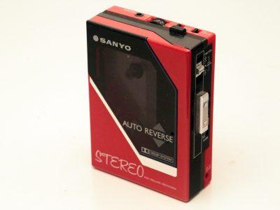 三洋 SANYO M-G80D 磁带随身听