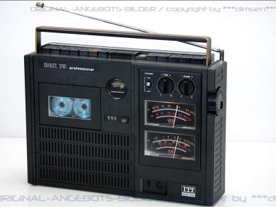 ITT RCX 75 大表头单卡收录机