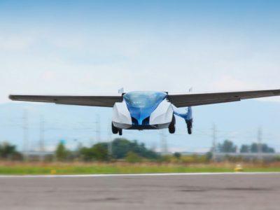 可折叠飞行汽车 Aeromobil 2.5 成功完成首次飞行