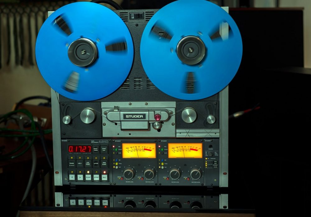 收藏品:STUDER A810 专业电台版2轨开盘机(嫁出) - 广安经典音响