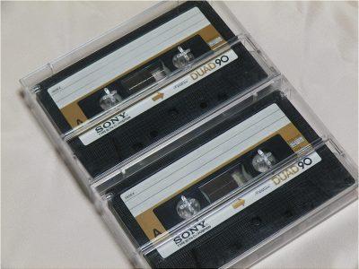 索尼 SONY DUAD 90分 空白录音带