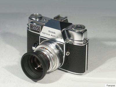 柯达 KODAK RETINA REFLEX III 胶片相机
