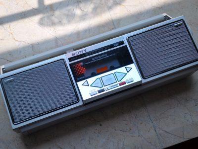 索尼 SONY CFS-11 单卡收录机