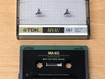 TDK MA-XG 90 金属带 磁带