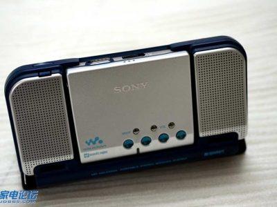 索尼 SONY MZ-E810SP 带音箱的MD单放机