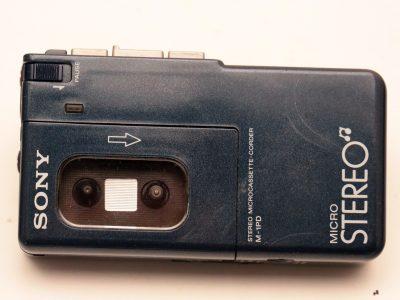 索尼 SONY M-1 Pocket Deck 微型磁带立体声录音机 随身听