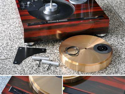 超重量級砲金 MICRO BL-111 黑胶唱机