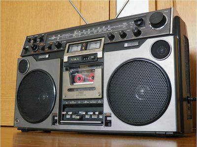 爱华 AIWA TPR-820 经典双表四喇叭收录机