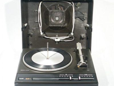 飞利浦 PHILIPS 251 便携电唱机 留声机