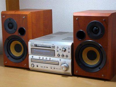 天龙 DENON D-MA5DV DVD/CD/MD 桌面组合音响