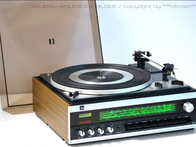DUAL KA12 收音+黑胶唱机一体机