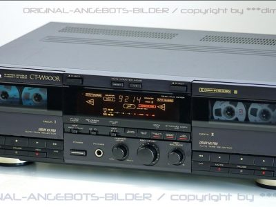 先锋 PIONEER CT-W900R High-End 双卡座