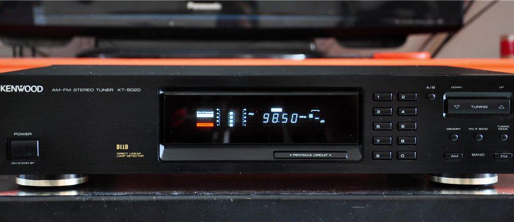 建伍 KENWOOD KT-5020 数字调谐器 收音头