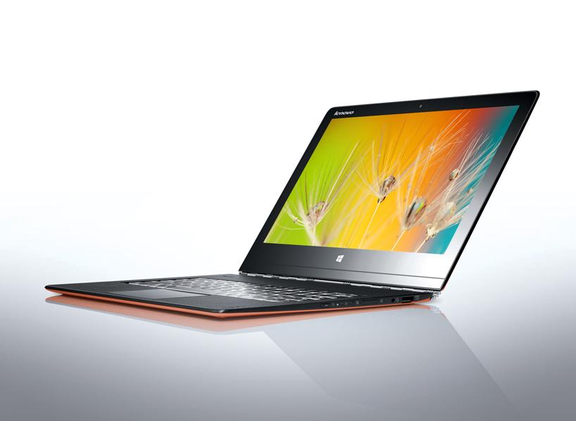 表带式铰链让联想 Yoga 3 Pro 平板电脑灵活自如