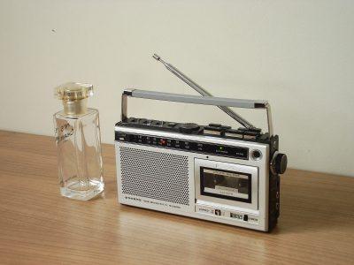 三洋 SANYO M5850FE AM/FM收音 微型磁带收录机