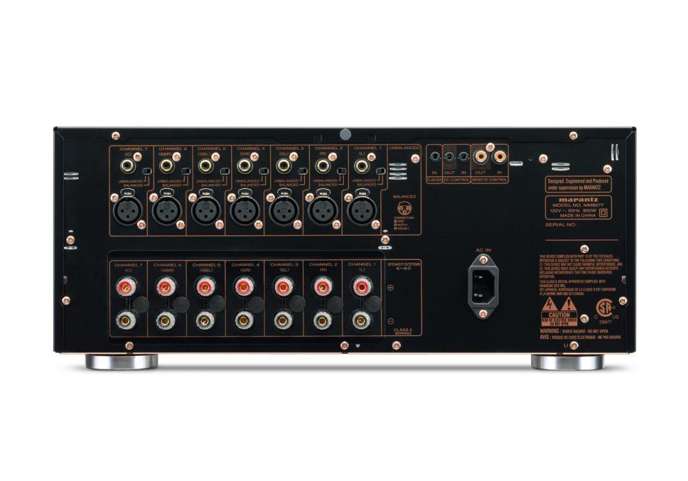 马兰士 Marantz MM8077 次世代AV功率放大器