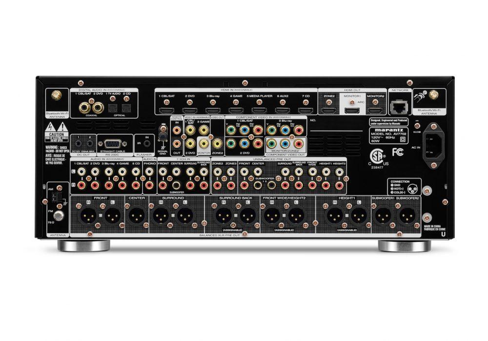 马兰士 Marantz AV7702 次世代AV功率放大器