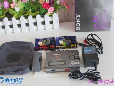 索尼 SONY MZ-R3 MD随身听