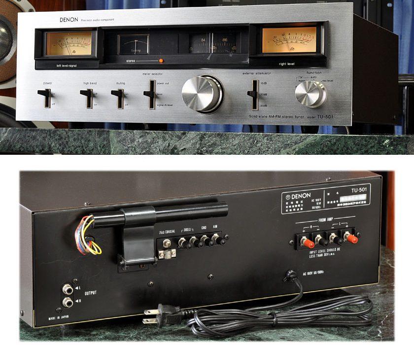 天龙 DENON TU-501 FM/AM 立体声收音头