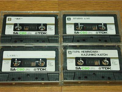TDK SA-C90 空白磁带